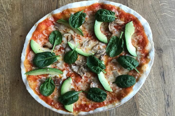 Pizza Geräuchertes Poulet