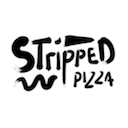 Logo Stripped Pizza