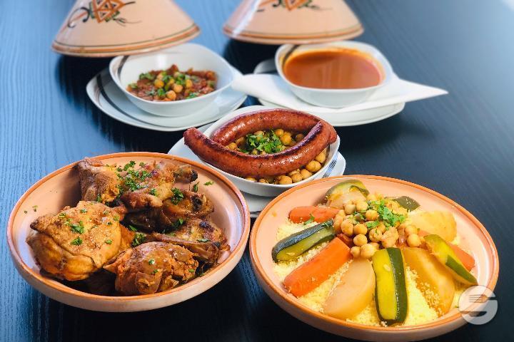Vegetarian Couscous - Couscous Express