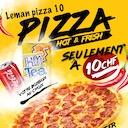 Logo Leman Tacos & Pizza