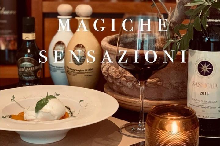 Carpaccio di filetto di manzo con scaglie di parmigiano - Restaurant Gotthardhof