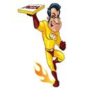 Logo Mister Pizza Gland