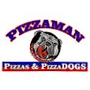 Logo Pizza Man & Pizza Dog